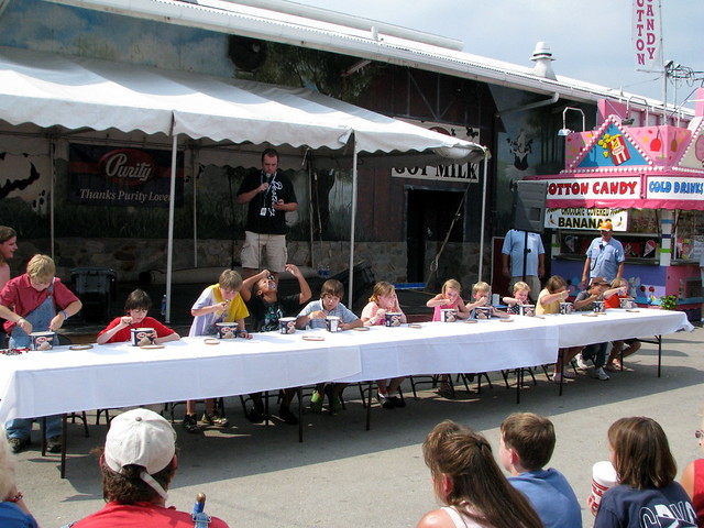 09 TN State Fair #22: Purity Ice Cream Eating Contest