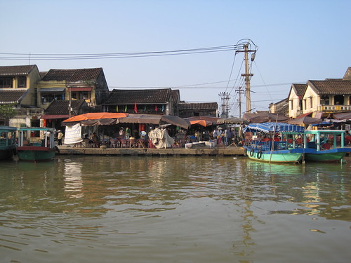 Hoi An Market, view from the river