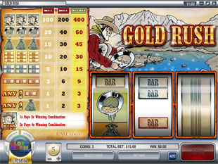 Gold Rush slot game online review
