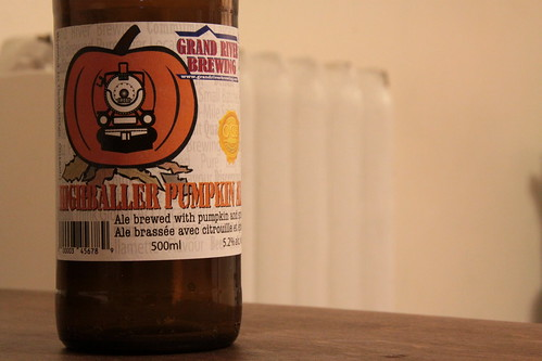Grand River Brewing   Highballer Pumpkin Ale December