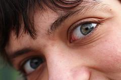 Raphal (clic_clac kodak) Tags: portrait white black france canon noir forum yeux et blanc creuse cole lyce