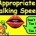 Appropriate Talking Speed-Debbie Dunn