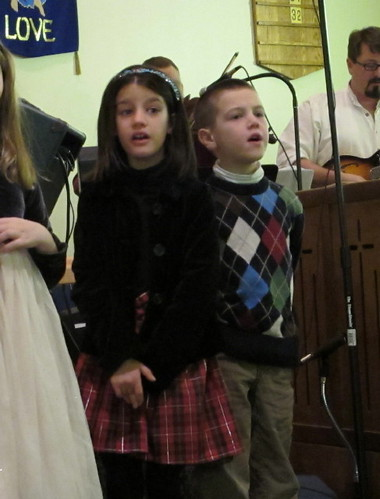 Christmas Concert singing #2