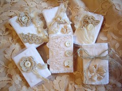 matchboxes (skblanks) Tags: white vintage lace buttons crochet mother silk gift ribbon pearl boxes chic rosette burlap ruffle damask shabby matchboxes
