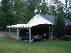 SteelMaster Metal Double Carport