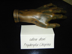 cast of Chopin's hand, Radziwill Palace, Anton (EuCAN Community Interest Company) Tags: poland 2009 eucan milicz baryczvalley
