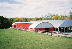 SteelMaster Metal Roofing System on Farm Buildings
