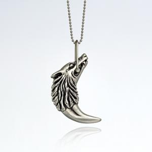 Isabella Wolf Fang Necklace