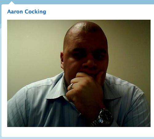 Aaron Cocking on Twitter