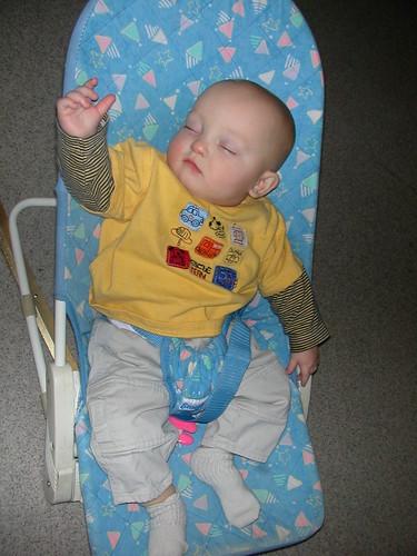 Dec 11 2009 Elden enjoying the activity