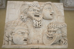 Vatican Museum (h_savill) Tags: old city winter italy sculpture vatican rome roma art archaeology statue stone museum ancient italia gallery december mask theatre roman visit tourist carving collection empire artifact 2009 vaticanmuseum artefact