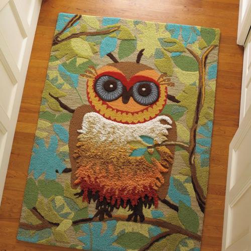 Owl Rugs Home Decor
