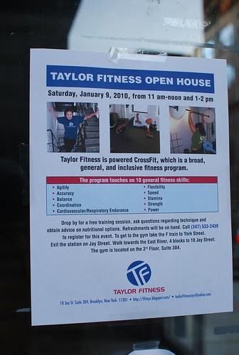 Taylor Fitness Open House