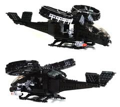samson (psiaki) Tags: lego avatar helicopter samson gunship moc aerospatiale
