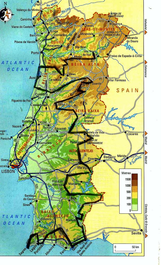 Portugal a Pé mapa img161