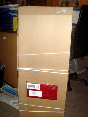Was ist denn das für eine riesige Schachtel