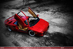 Diablo SV (Derek Walker Photo (Derk Photography)) Tags: new york red ny up car yard island boat photo nikon long shoot doors exotic diablo lamborghini sv spotting lambo derk d80