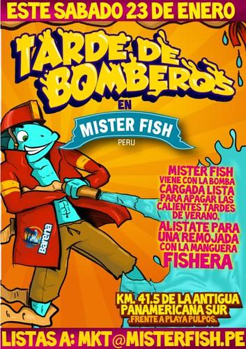Tarde de bomberos - Mister Fish Sur