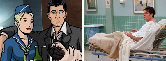Archer Two and a Half Men