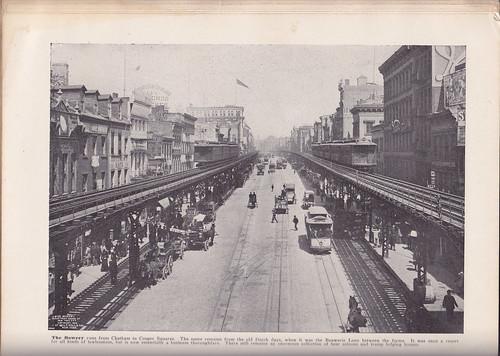 Bowery 1800's
