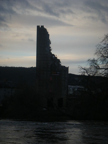 remnants of the mill