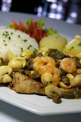 Peixe a Belle (Diego Chaves) Tags: praia hotel peixe belle gastronomia cogumelo visual camaro alcaparras
