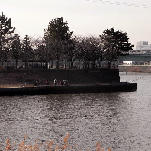 Shin-Nakagawa passing water memorial park