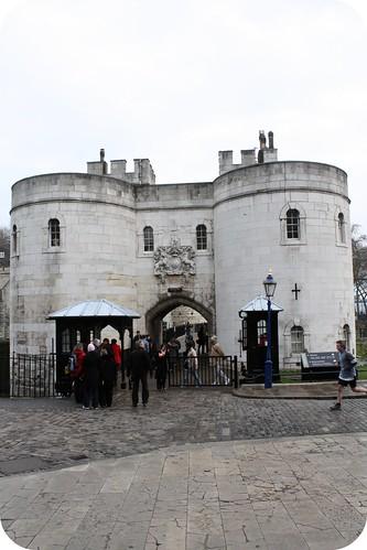 London, Tower of London entrance
