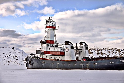 Ice Bound Tug