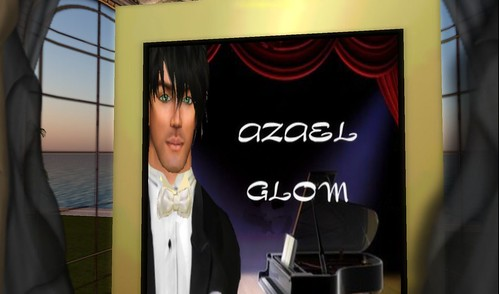 "azael glom, pianist at ""A Baroque Ball"""