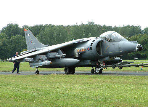 GR.7 ZD437 49 4Sqdn after crash St Athan Ace 210803