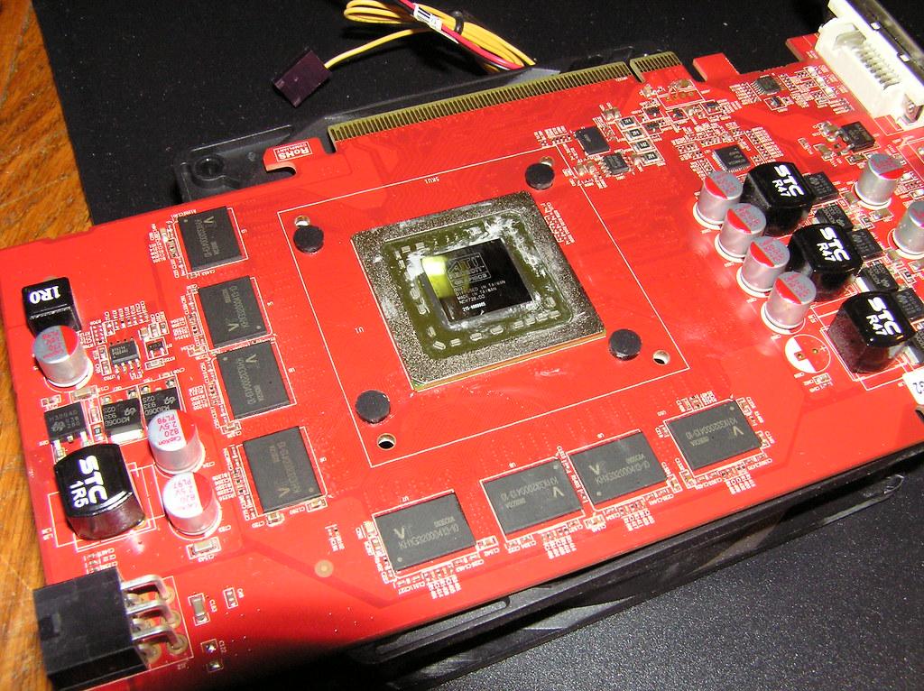 Naked Radeon 4850