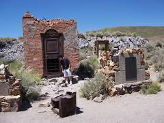 Bodie Bank Vault Ruins