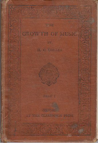 The Growth of Music cover 1912