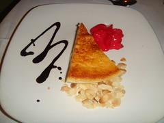 Tarta de queso Idiazábal