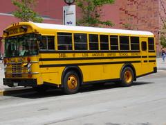 LAUSD 3406 (crown426) Tags: bluebird schoolbus losangelesunifiedschooldistrict aafe wheelchairbus