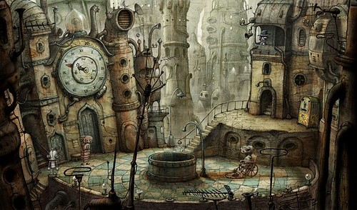 小游戏艺术巅峰:《机械迷城》图文攻略 | 爱软客