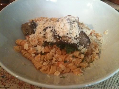 La Tête dans les olives: Buccoli a la norma