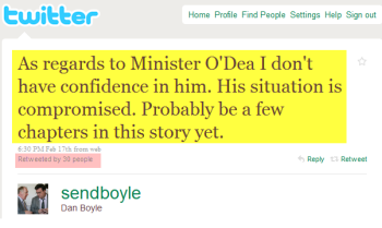 The Tweet That Ousted a Minister