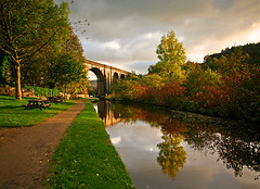 Saddleworth Viaduct (Charlotte Brett Photography) Tags: canal pennines saddleworth uppermill dobcross huddersfieldnarrowcanal saddleworthphotobooklandscapes landscapespicked