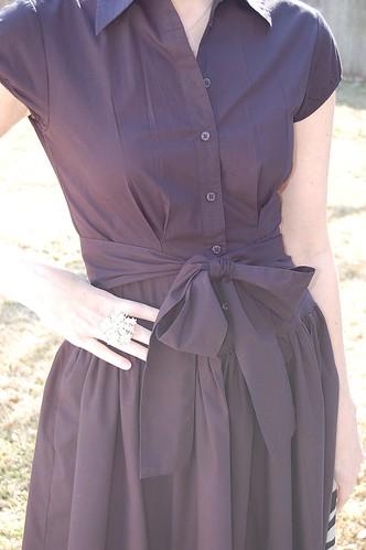 Walmart Norma Kamali dress detail