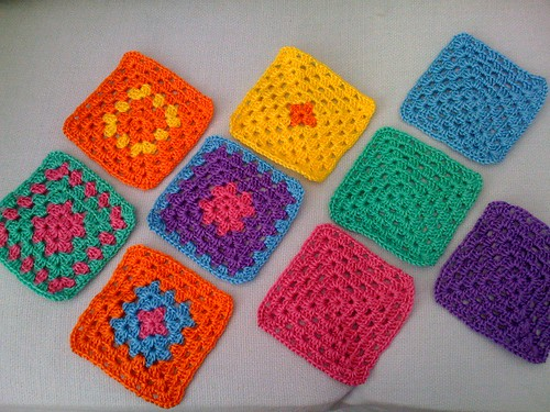 Look at Rita's beautiful Sunshine Squares, thank you Rita. So bright and cheerful.