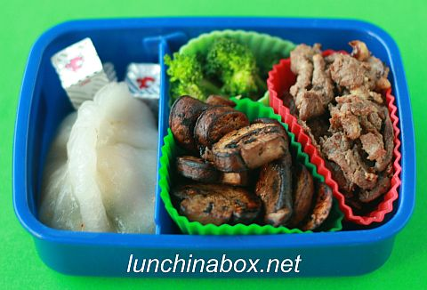 Bulgogi & mushroom lunch for child