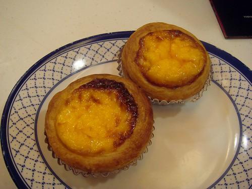 Chui Wah portuguese tarts
