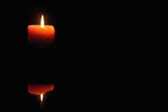 63.365 - Meh. (Josh Liba) Tags: light black reflection night project dark fire candle smoke boring flame 365 ruleofthirds 63365 joshliba