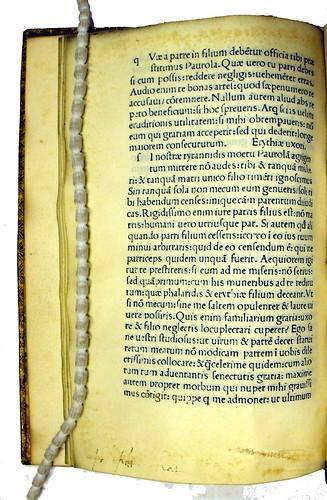 Manuscript annotation in Epistolae