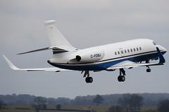 C-FDBJ - 145 - Private - Dassault Falcon 2000EX - Luton - 100309 - Steven Gray - IMG_8084