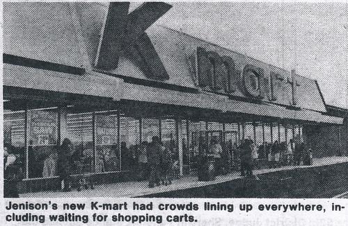 new kmart logo. Brand new Jenison Kmart