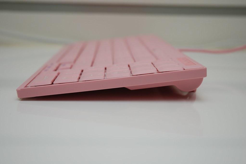 i-rocks KR-6523 粉紅筆電鍵盤 - 15