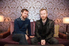 Aaron Dessner and Matt Berninger